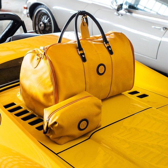 Black/Yellow Travel Case