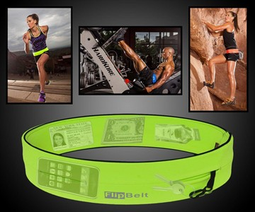 FlipBelt Fitness Storage Belt