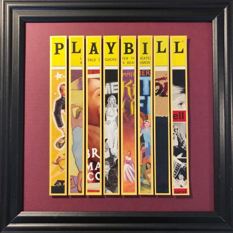 Kelli O'Hara Broadway Framed Custom Playbill Art