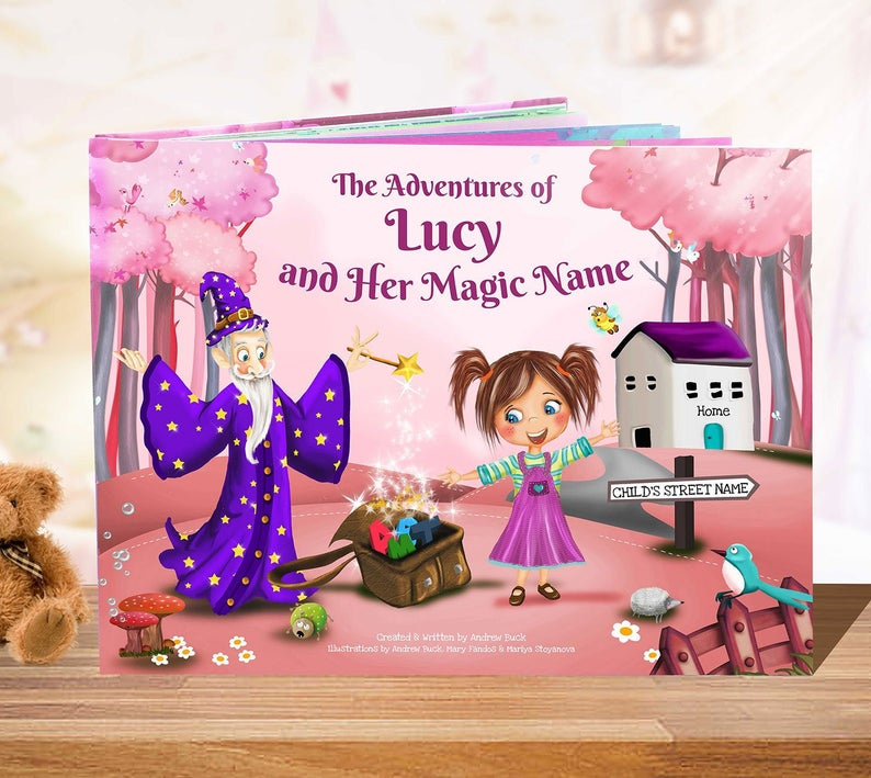 Personalized Book for Girls   A Personalized Story Book  A