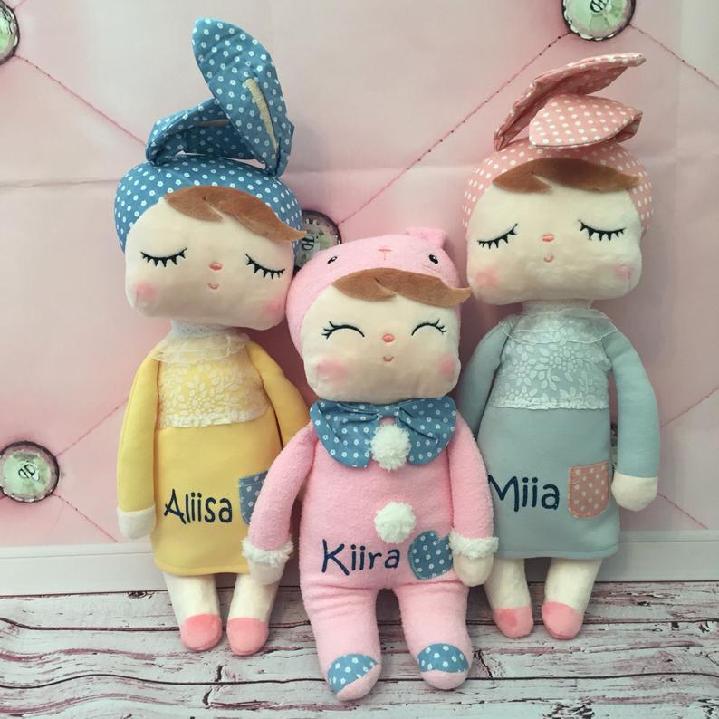 Personalized Doll. Plush Doll. Soft Plush Material. Girls