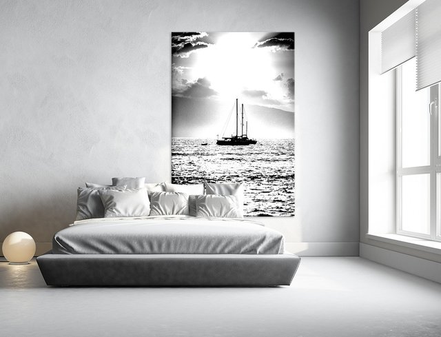 Waiting for the Wind, Giant Canvas Print by Aaron Matheson 48 x 72 inches