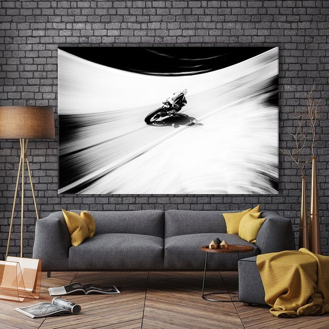 A Smoother Road Giant Canvas Print