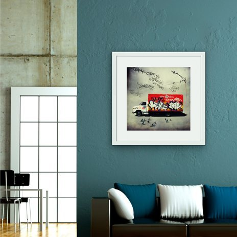 Catering Truck , Fine Art Print by Tim Jarosz
