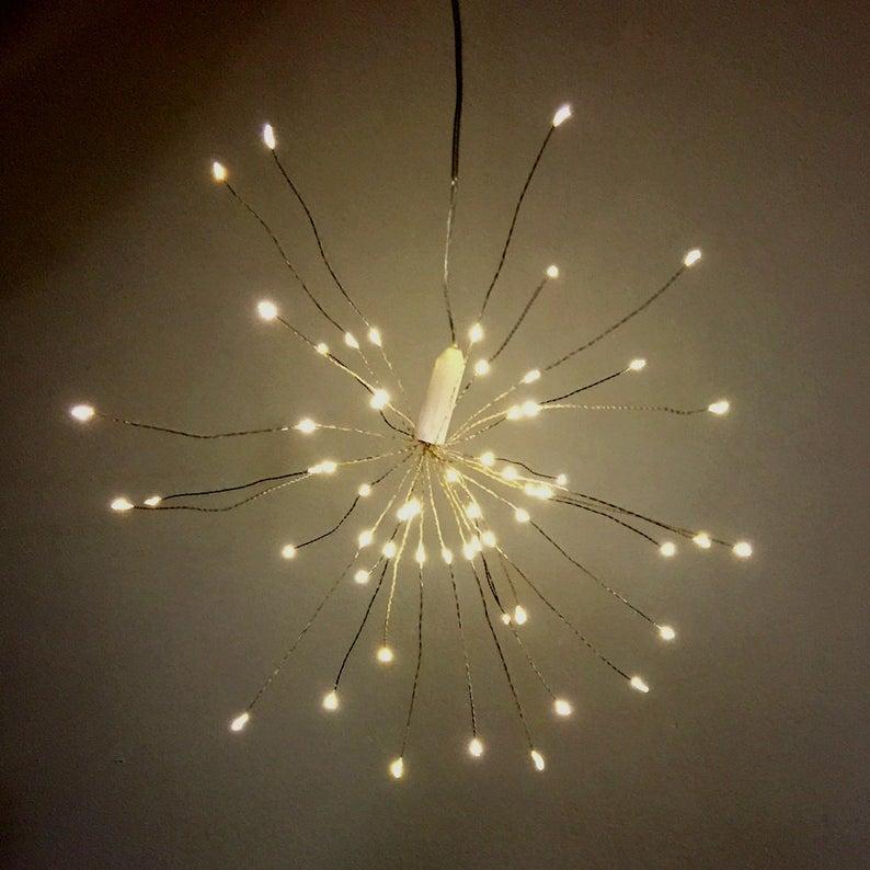 Fireworks Lights Bouquet Decoration Lights.  30 strands of