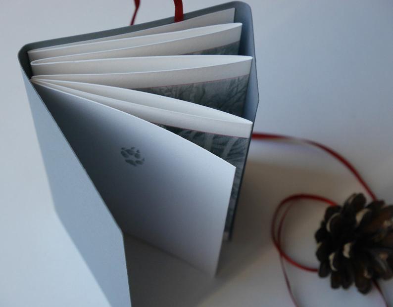 Fox  Silent Story  Concertina artist book