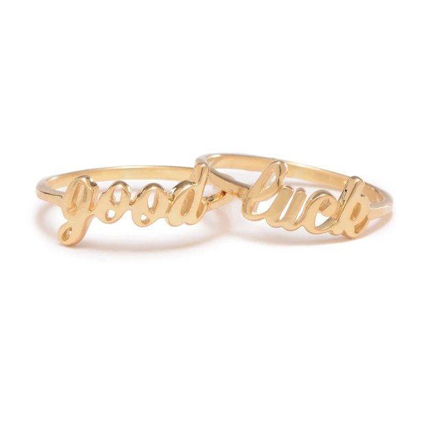 Good Luck Ring Set