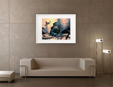 Ignore the sparrows, Fine Art Print by Rolando Cyril