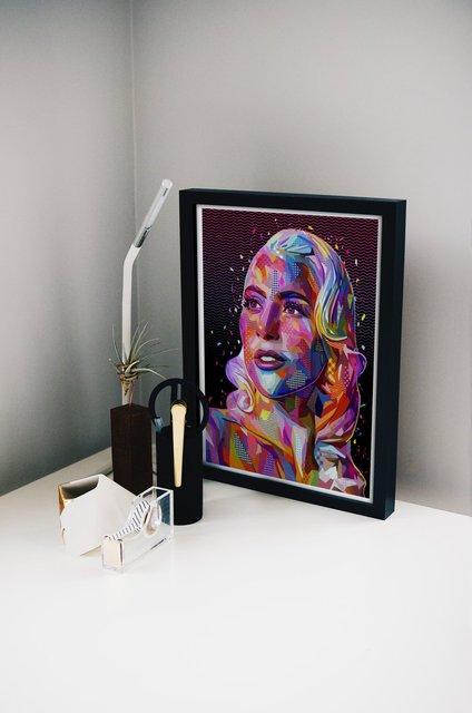Lady Gaga Poster by Alessandro Pautasso