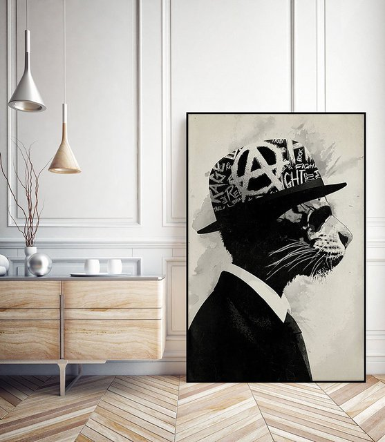 Middle Class Rebel ArtBlock Framed Print by Hidden Moves