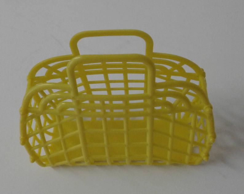 NEW Vintage Retro 1980's DOLL Jelly Plastic Purse Made