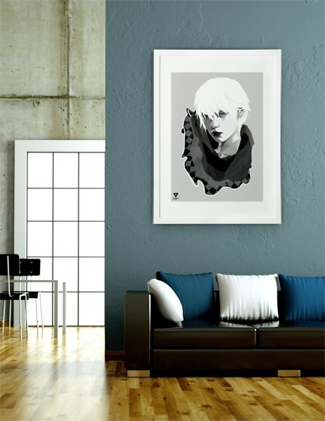 Pierrot, Fine Art Print by V.Envy Project