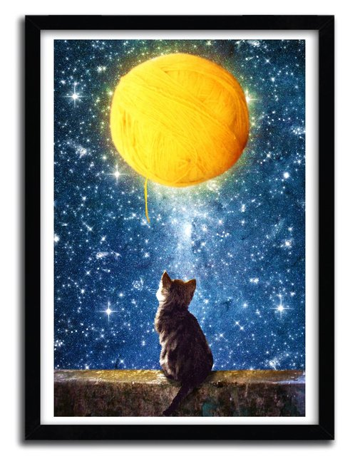 art print  A YARN OF MOON  by DIOGO VERISSIMO