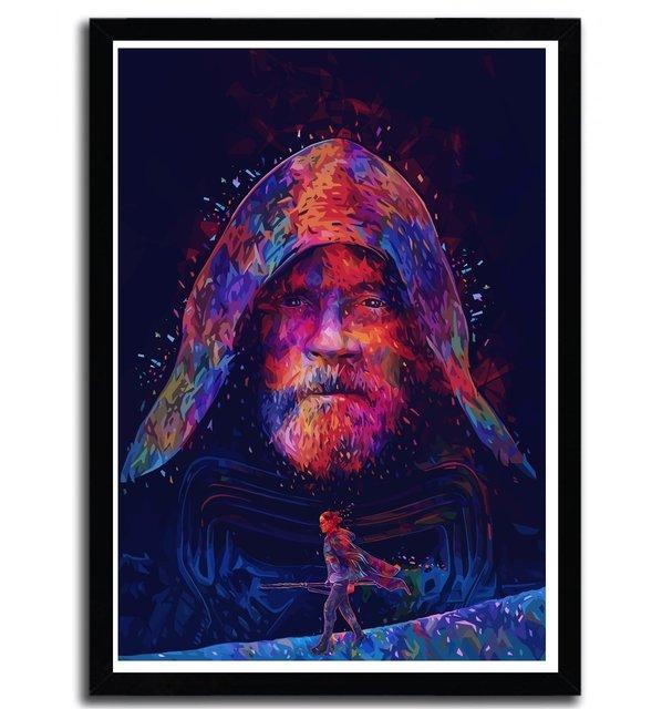 Affiche Last Jedi par Alessandro Pautasso