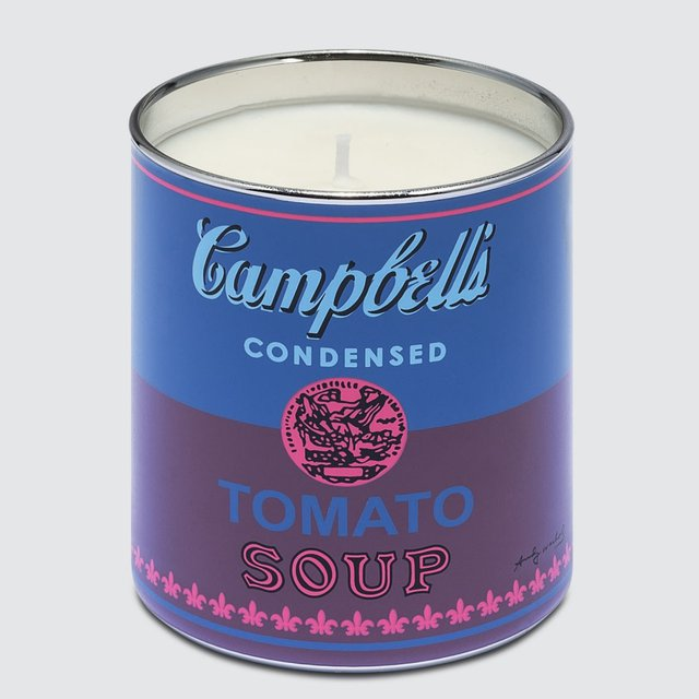 Andy Warhol Blue/Purple Soup Candle