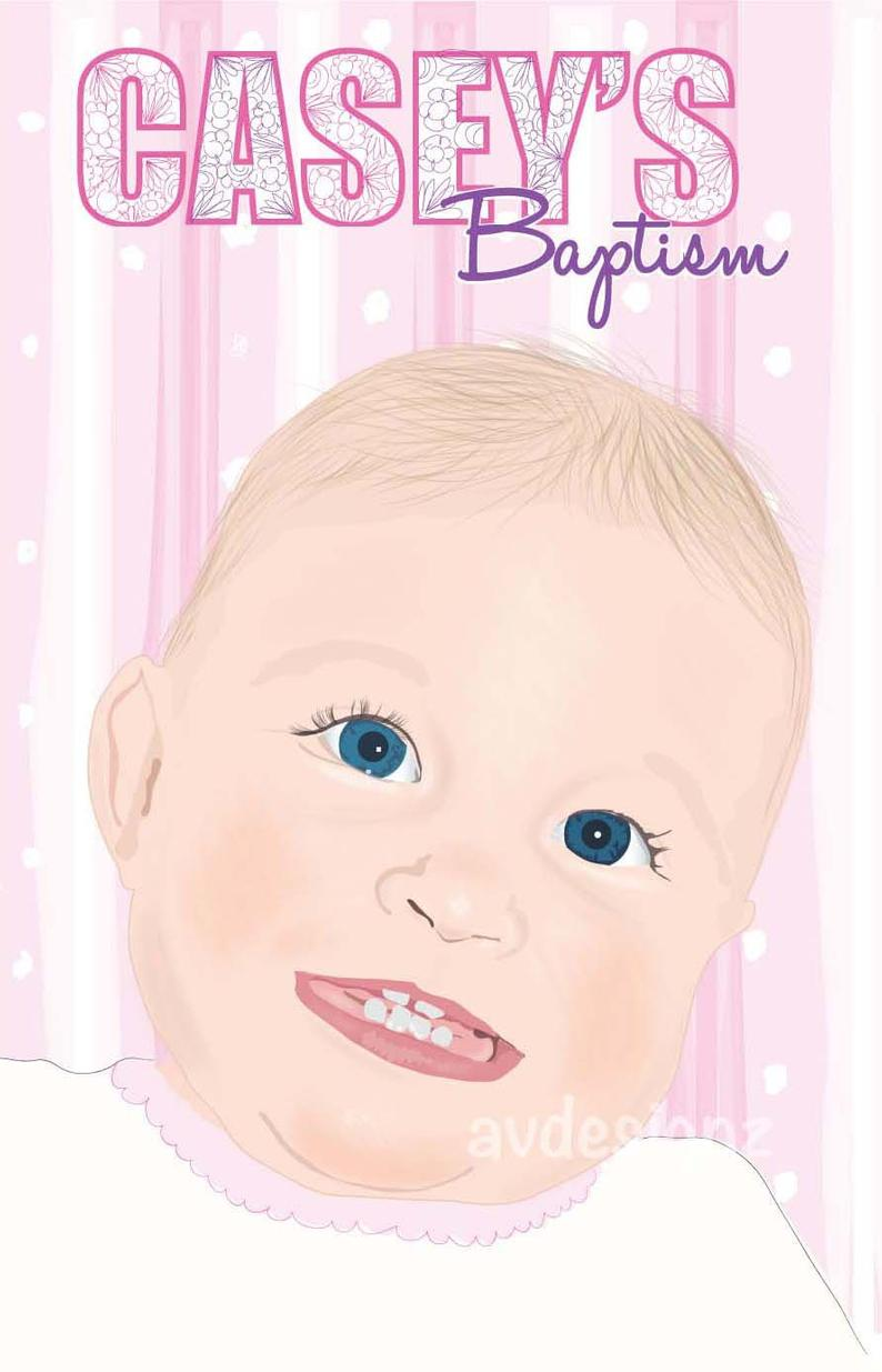 Baptism gift for Goddaughter Christening present Goddaughter