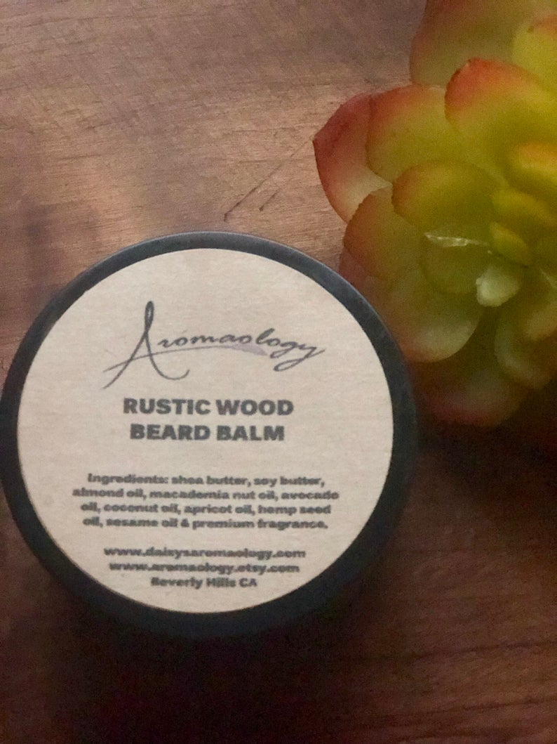 Beard Balm  Rustic Wood Beard Balm  Beard Conditioner