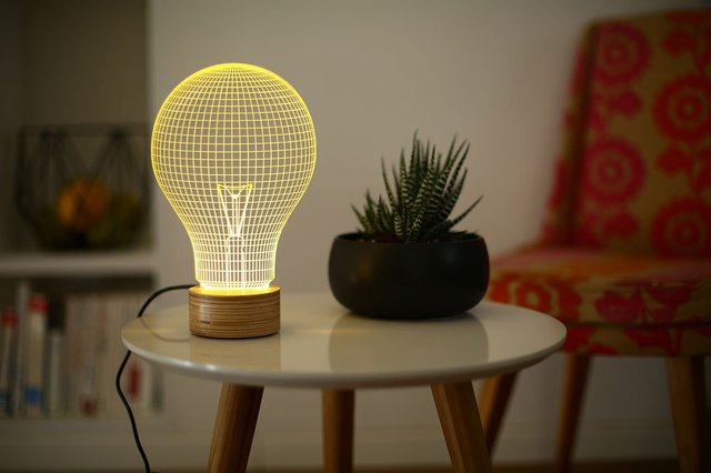 Bulb 2D Lamp