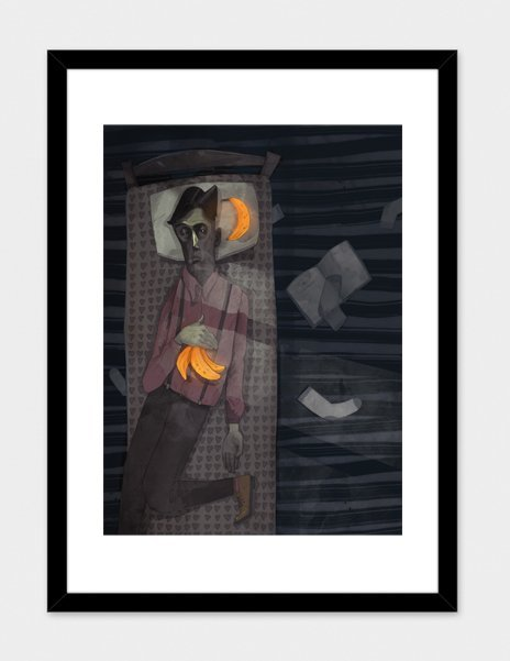 """Dreamer – Numbered Art Print by Patryk Hardziej from Curioos"