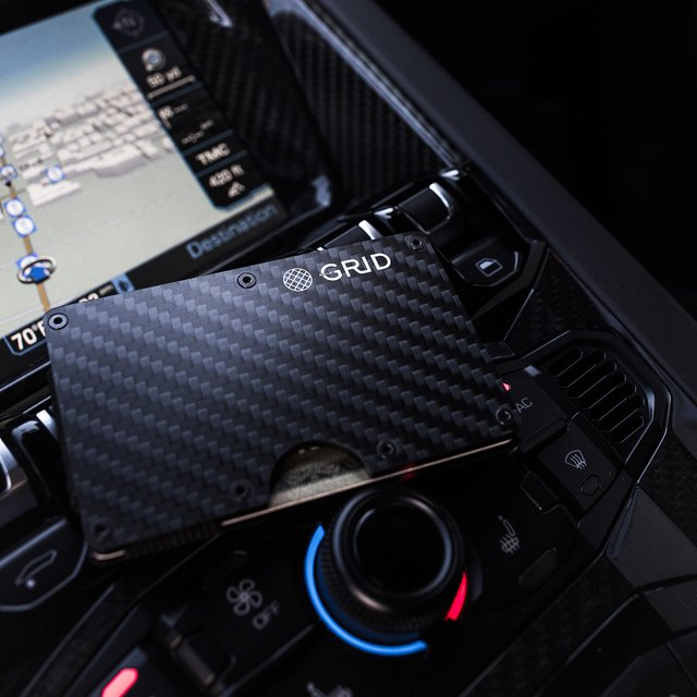 GRID Wallet // Carbon Fiber