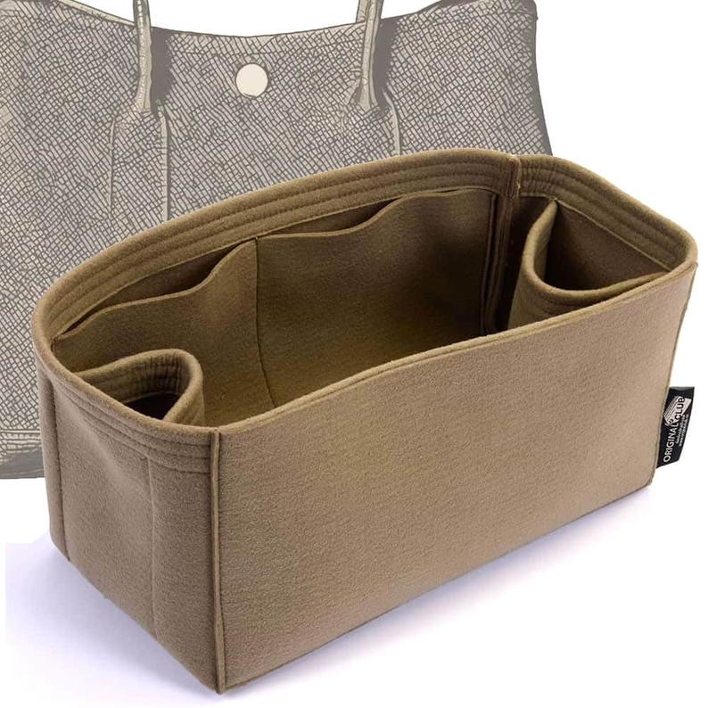 Garden Party Regular Style Bag Organizer Felt Purse