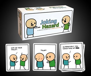 Joking Hazard – Build Funny (and Terrible) Comics
