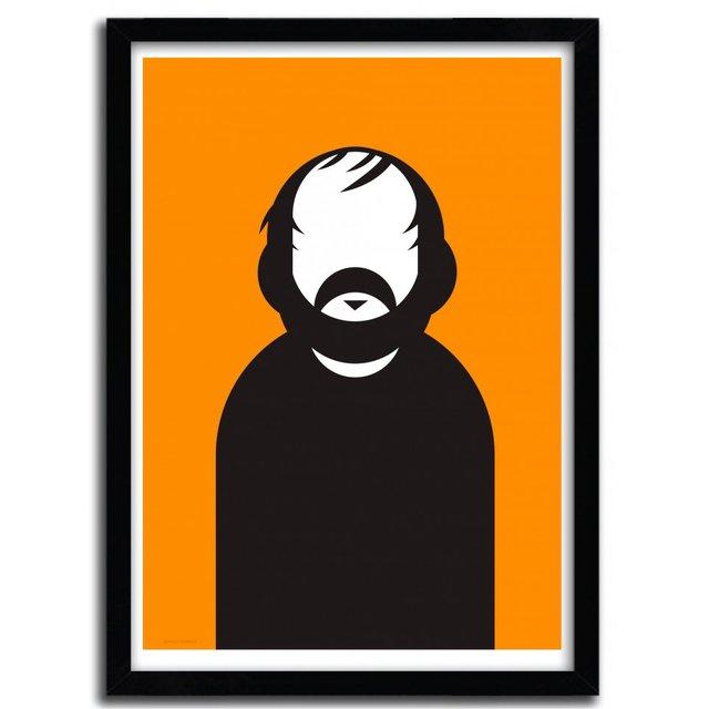 Kubrick Art Print by Ale Giorgini