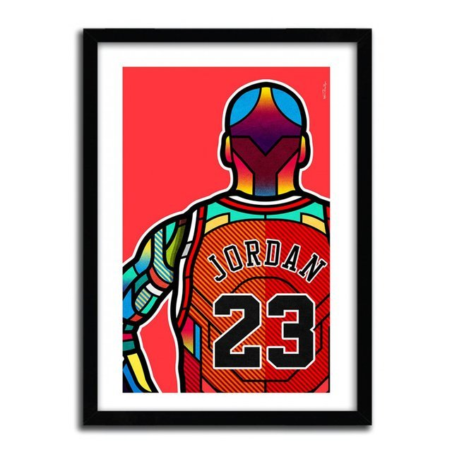 MJ Print by Van Orton