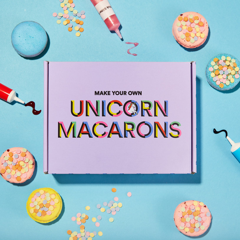 Make Your Own Unicorn Macarons Kit