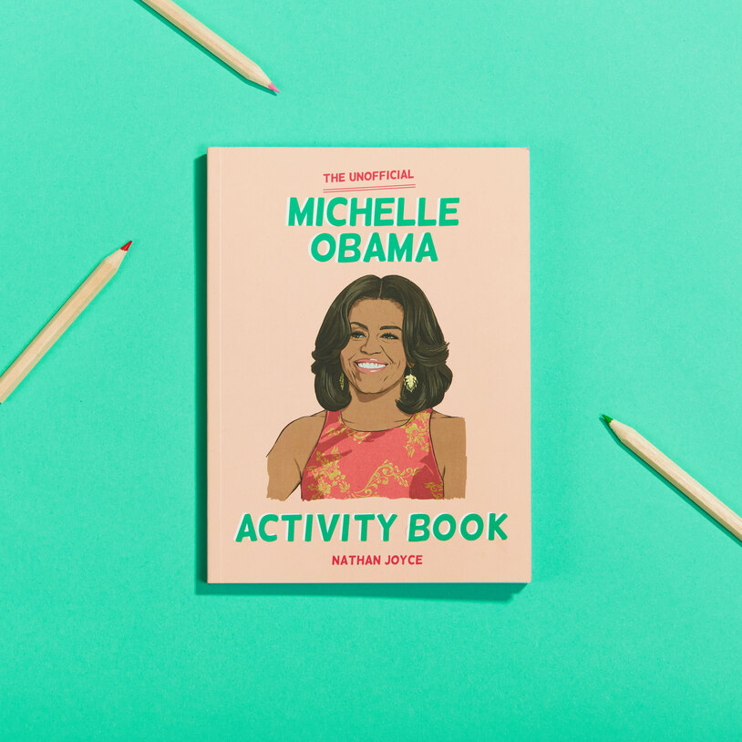 Michelle Obama Activity Book