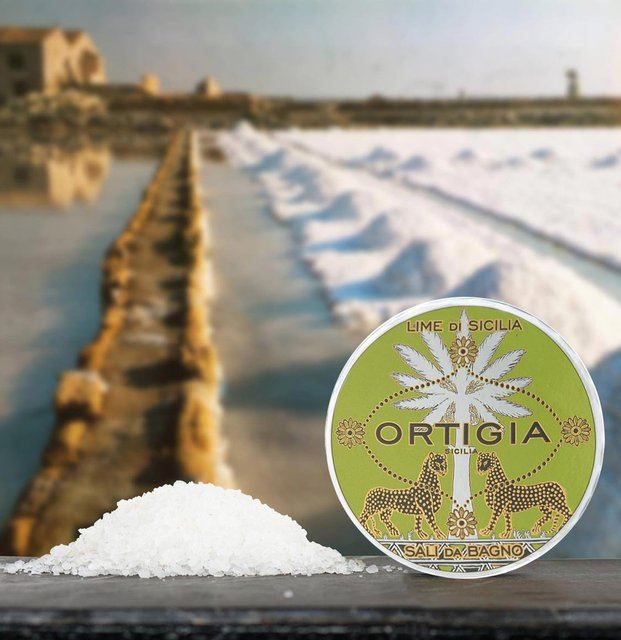 Ortigia Sicilia Lime Bath Salts