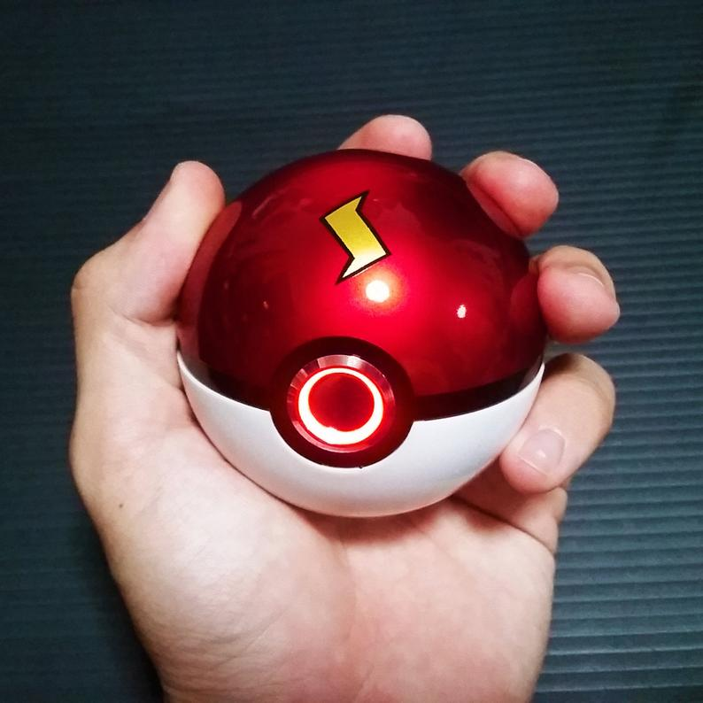 Pokeball with Ringlight Pokemon cosplay must have