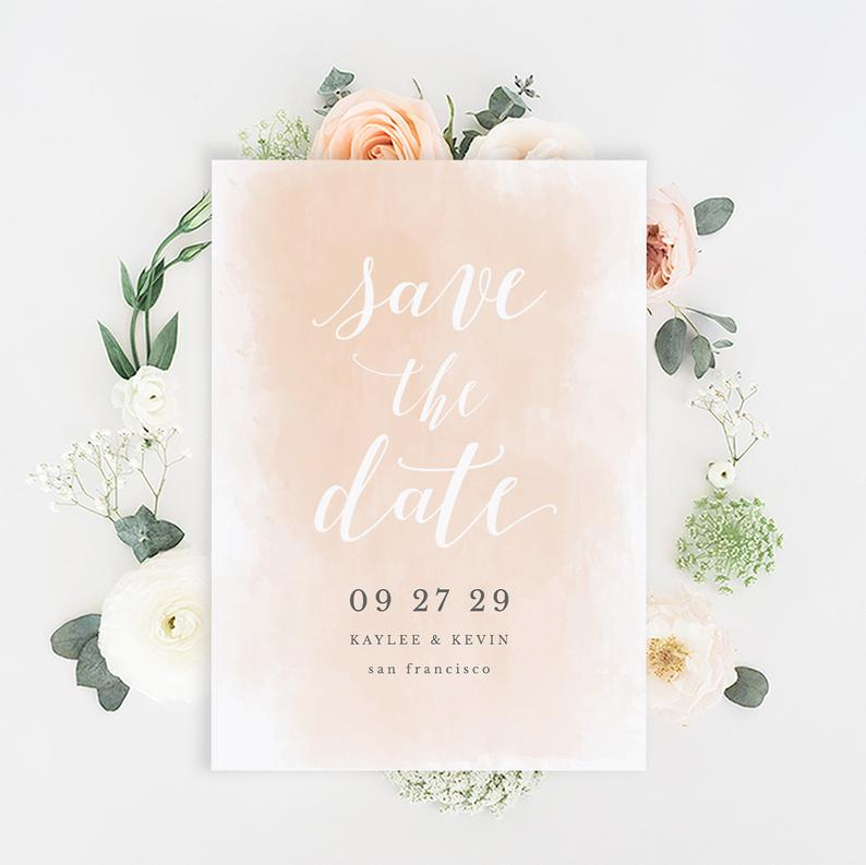 Printable Save-the-Date Template Save the Date Invitation