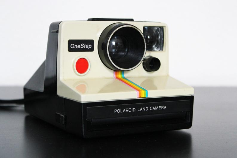 Vintage Polaroid Rainbow Onestep One Step Instant Land Camera