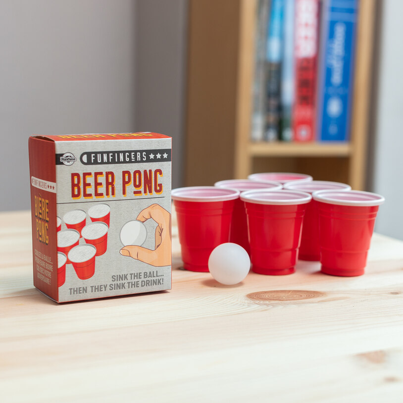 World's Smallest Beer Pong