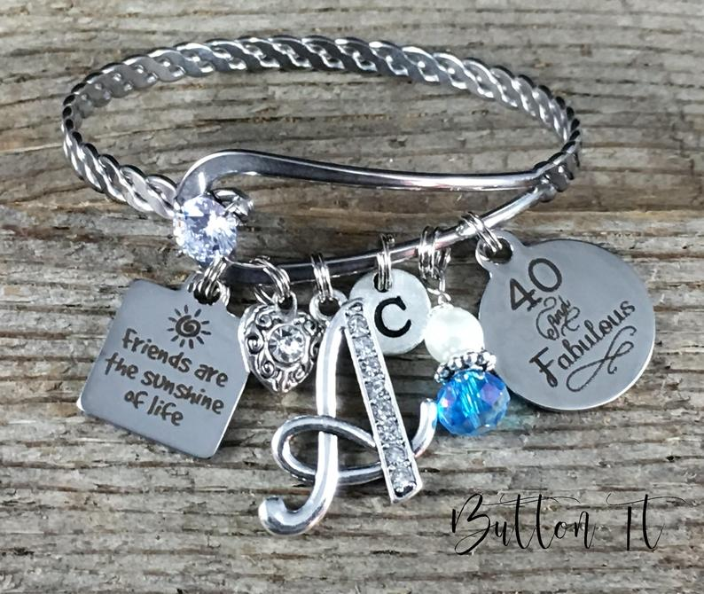 Best friend gift FRIENDSHIP bracelet Friend birthday gift