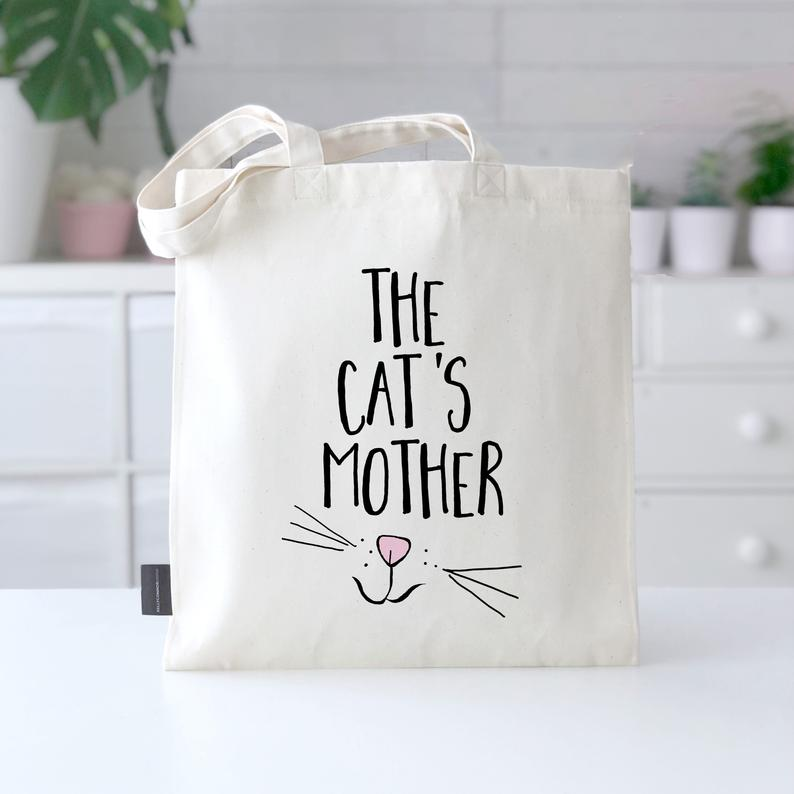 Cat Lady Bag  The Cat's Mother  Cat Lover Gift  Funny