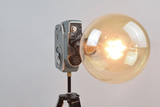 Charlie Bauer Camera Lamp