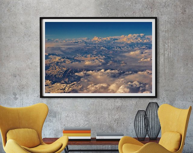 Clouds II Art print by Peter Morneau