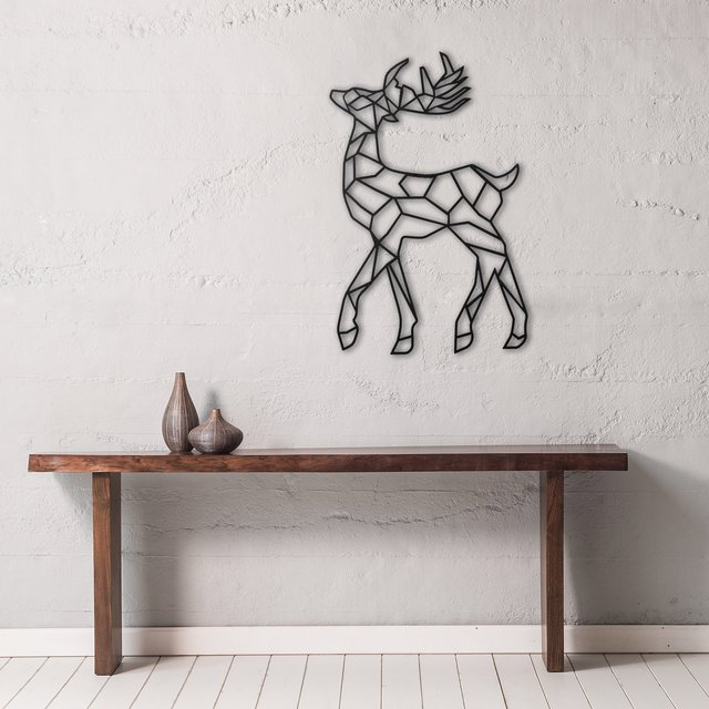 Deer Metal Wall Decor