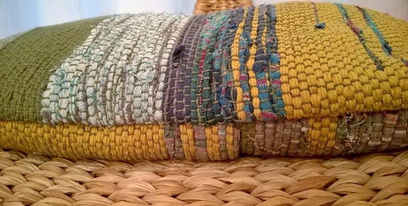 FODERA per cuscino SU MISURA_ECO 100% ecologica tessuta a