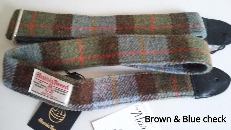 Guitar Strap Harris Tweed