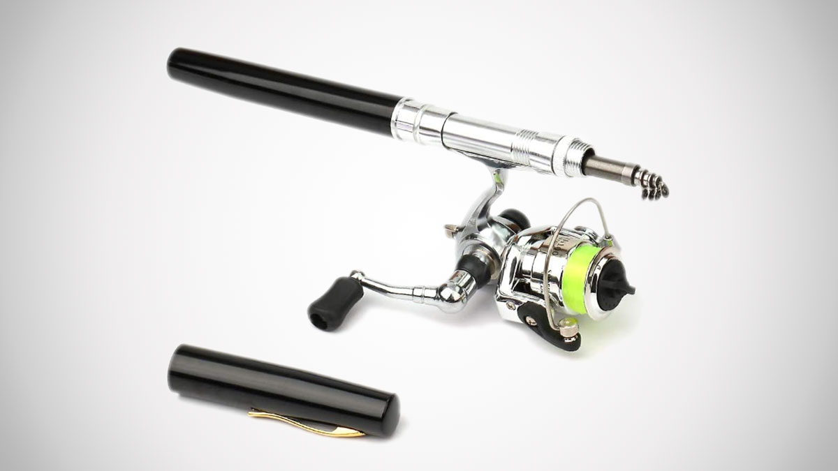 Lixada Pen Fishing Rod & Reel Set