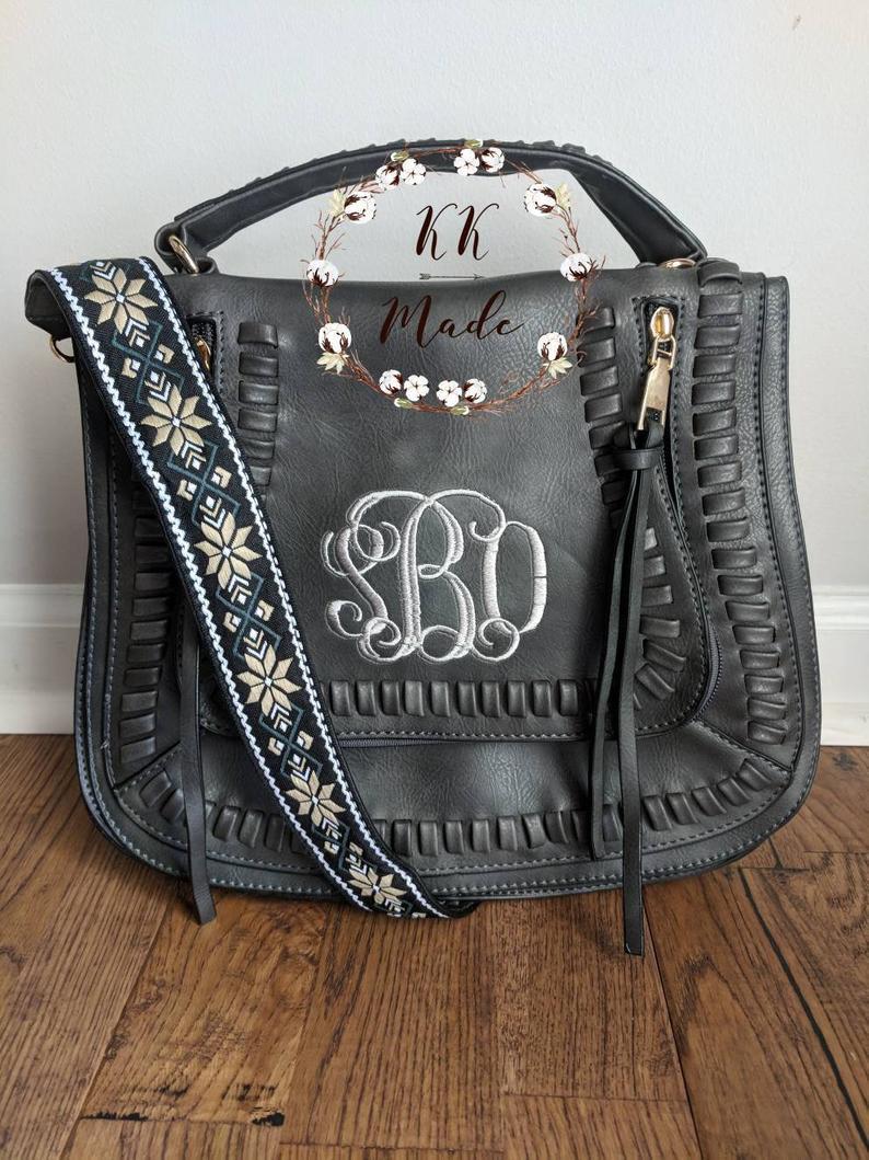 Monogrammed bag monogrammed purse monogrammed wallet