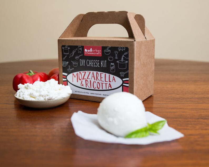 Mozzarella & Ricotta Cheese Kit cow milk