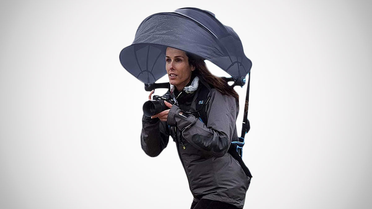 Nubrella Wearable Hands-Free Umbrella