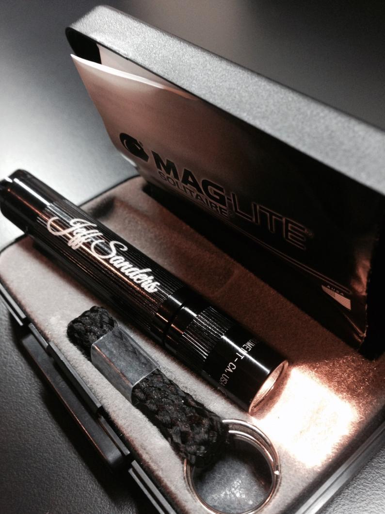 Personalized Mag-lite Flashlight