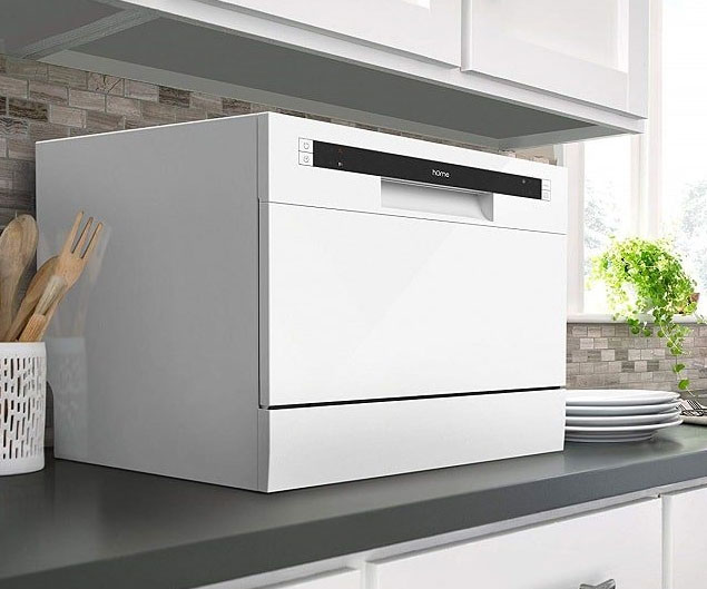 The Compact Countertop Dishwasher