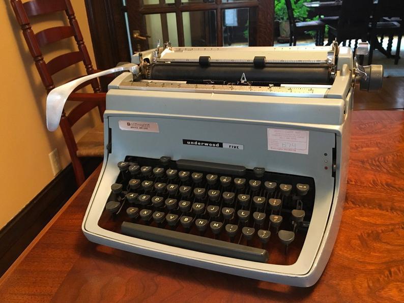 Vintage Typewriter Antique Typewriter Old Typewriter Working