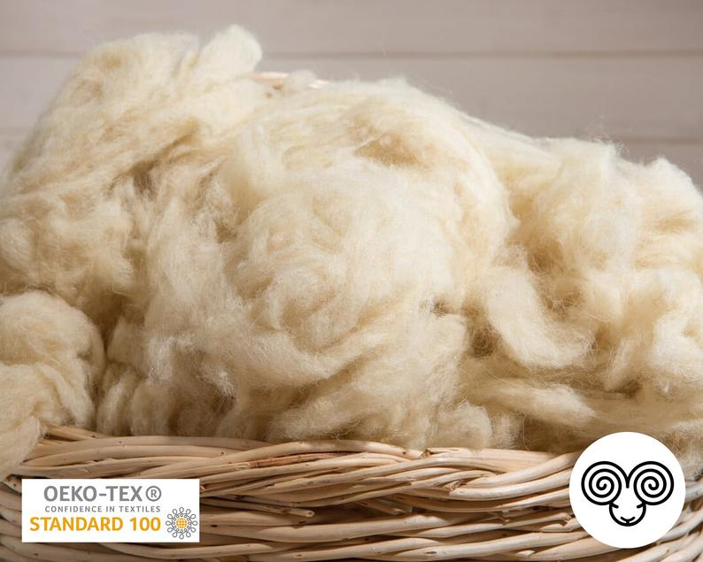 Wool Stuffing / Oeko-Tex Certified / Perfect for filling